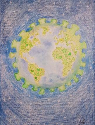 COVID planet