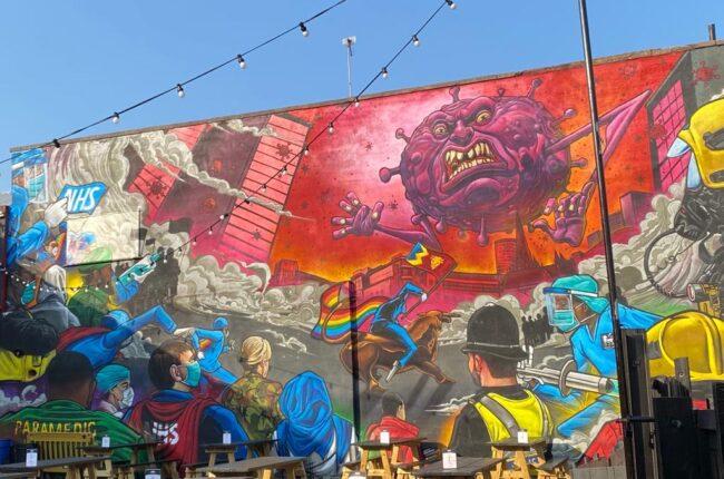 Graffiti art in Birmingham