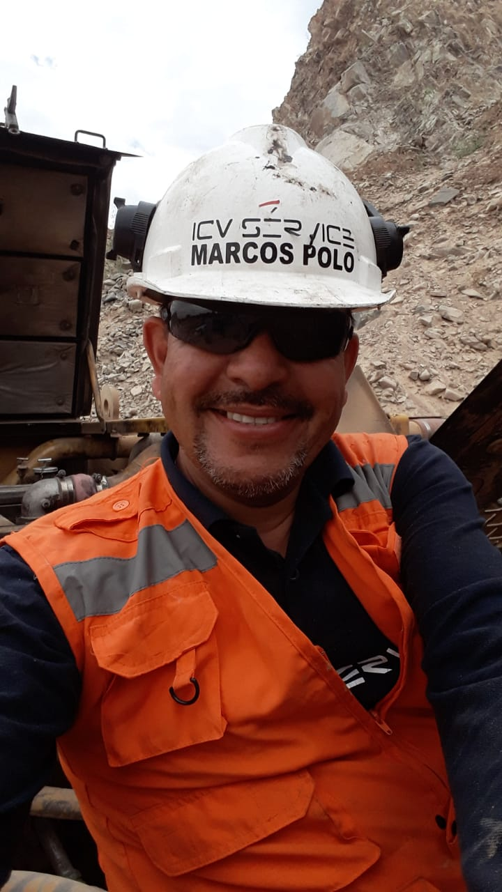 Man in hard hat and safety vest