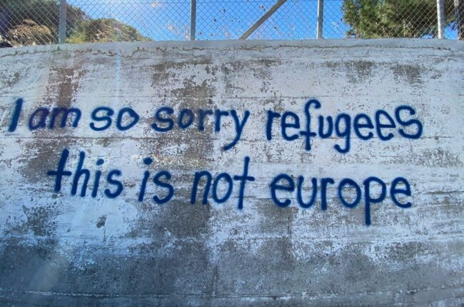 This is not Europe:  An apology