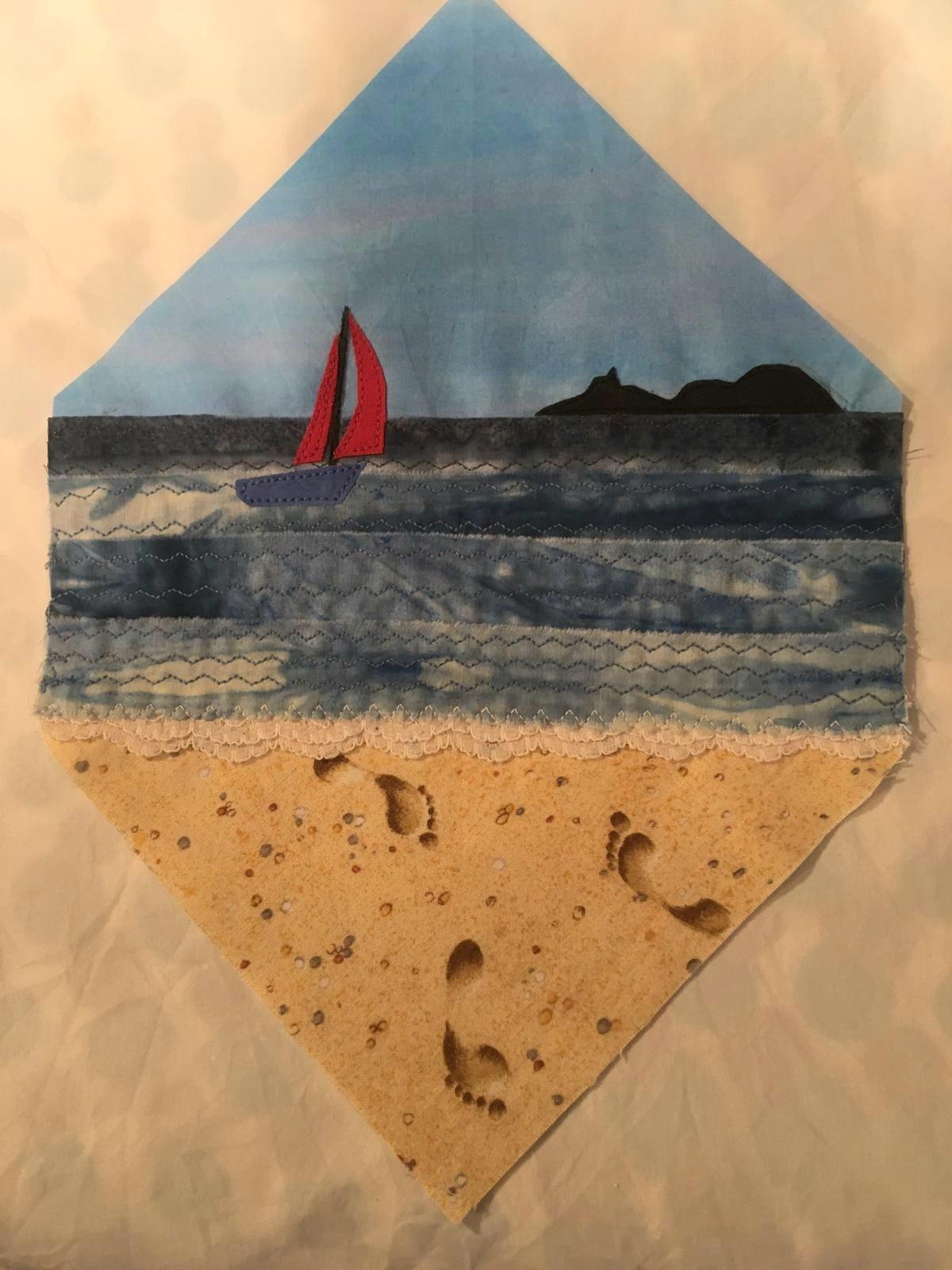 Sailing towards Mumbles Head, Swansea by Grace