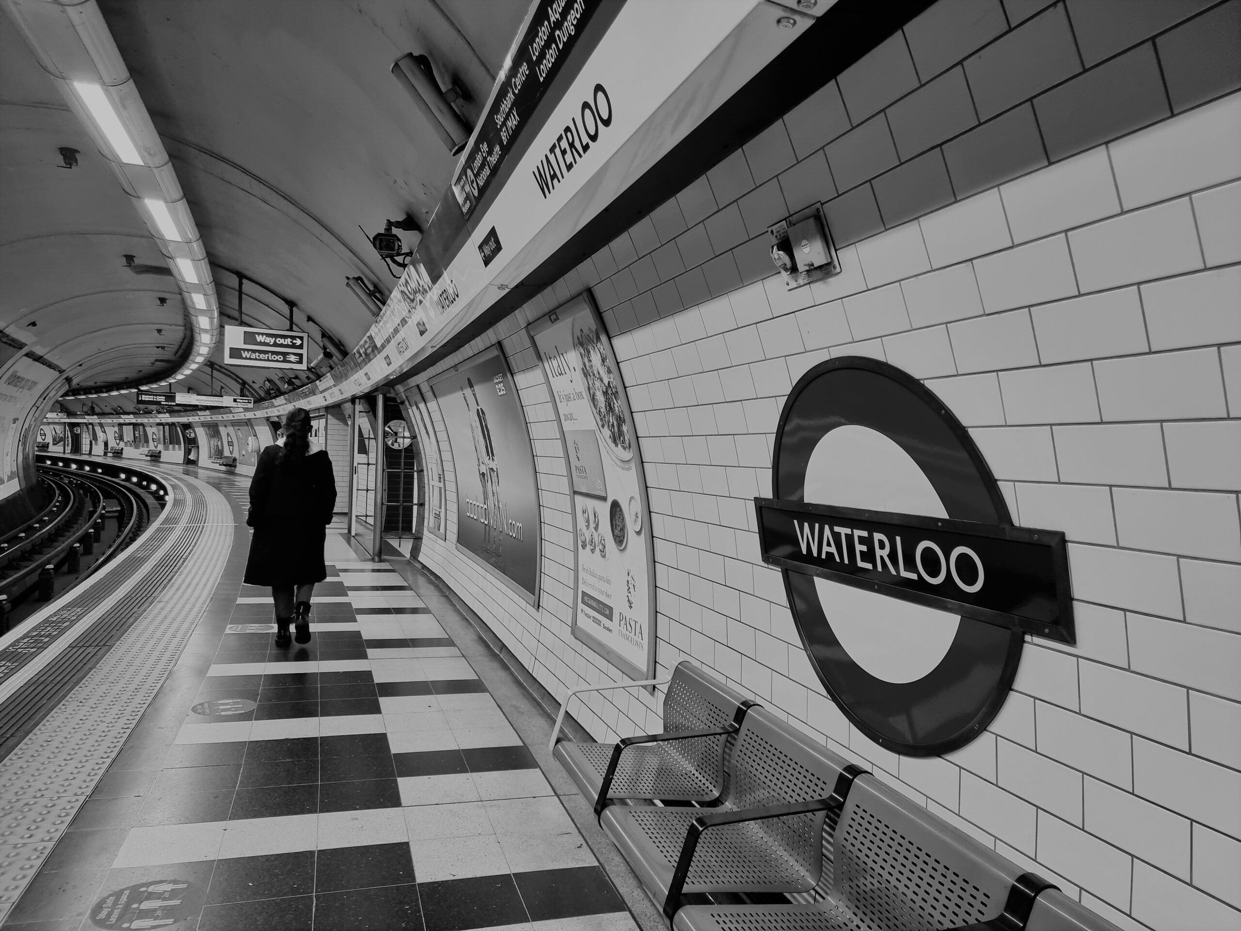 London Underground, by Thanu